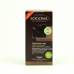 Logona Barva na vlasy, henna intenzivní černá 101 100 g