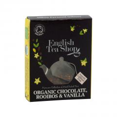 English Tea Shop Rooibos, čokoláda a vanilka, bio 2 g, 1 ks
