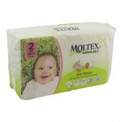 Moltex Dětské plenky Mini 3-6 kg 42 ks