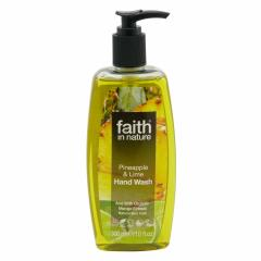 Faith in Nature Tekuté mýdlo ananas & limeta 300 ml