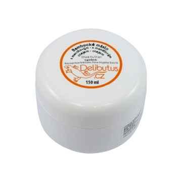 Delibutus Bambucké máslo s mandlovým olejem, 150 ml 150 ml