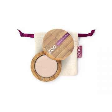 ZAO Třpytivé oční stíny 121 Pearly Ivory 3 g bambusový obal