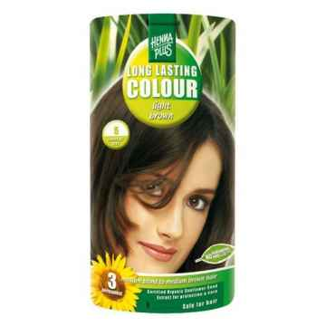 Henna Plus Dlouhotrvající barva Světle hnědá 5 100 ml