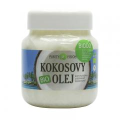 Purity Vision Kokosový olej, bio 700 ml