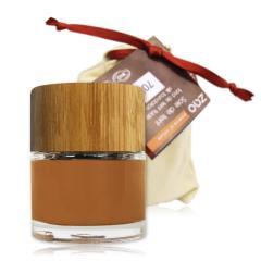 ZAO Hedvábný tekutý make-up 705 Capuccino 30 ml bambusový obal