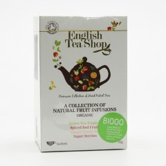 English Tea Shop Mix 4 příchutí - super ovocná směs, bio 35 g, 20 ks