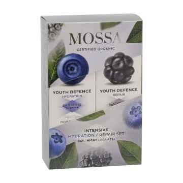 Mossa Obnovující pleťová sada, Youth Defence 50 + 50 ml