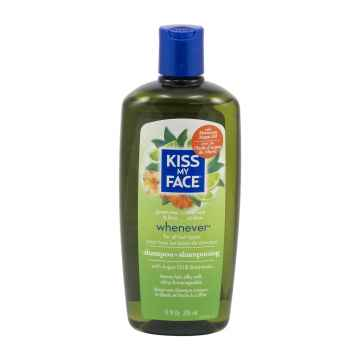 Kiss My Face Corp. Šampon Whenever, zelený čaj a citrus 325 ml