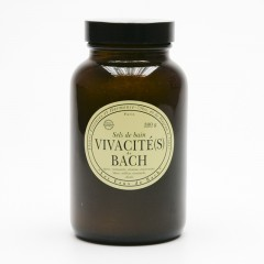 Les Fleurs de Bach Koupelová sůl energetizující, Vivacités de Bach 300 g