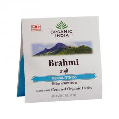 Organic India Brahmi, kapsle 4 ks