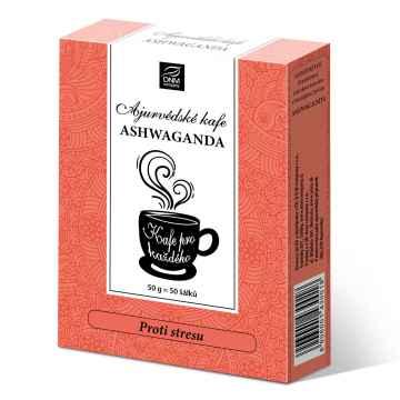 DNM Ájurvédské kafe Ašvagandha 50 g