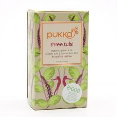 Pukka Čaj ayurvédský Three Tulsi 20 ks, 36 g