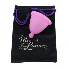 MeLuna Menstruační kalíšek růžový Shorty 1 ks