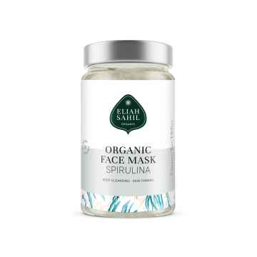 Eliah Sahil Organic Hloubkově čisticí zpevňující pleťová maska spirulina 100 g