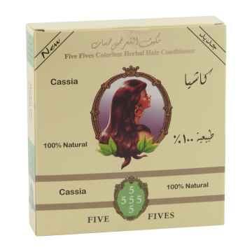Five Fives Henna Lamda cassia, bezbarvý regenerační zábal 100 g