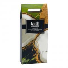 Faith in Nature Dárková sada péče o vlasy, kokos 250 ml + 250 ml
