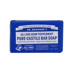 Dr. Bronner's Tuhé mýdlo Peppermint 34 g