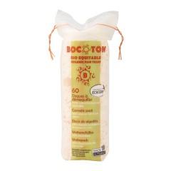 Bocoton Odličovací tampony, clasic cotton pads 60 ks