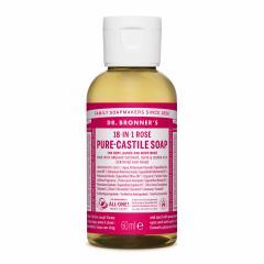 Dr. Bronner´s Tekuté universální mýdlo ALL-ONE!, Rose 60 ml