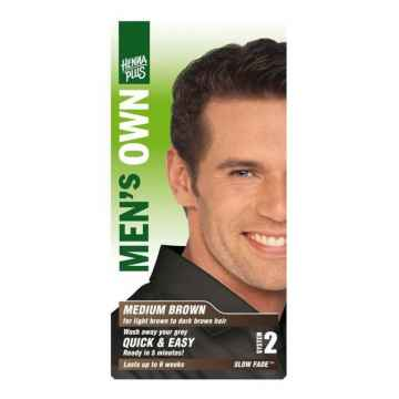 Henna Plus Barva pro muže Světle hnědá 80 ml