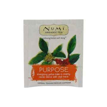 Numi Organic Tea Bylinný čaj Purpose 2,5 g, 1 ks