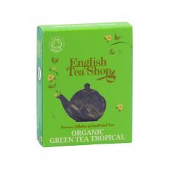 English Tea Shop Zelený čaj tropické ovoce, bio 2 g, 1 ks
