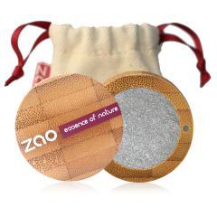 ZAO Třpytivé oční stíny 114 Silver 3 g bambusový obal