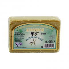 Knossos Mýdlo tuhé olivové, šalvěj 100 g