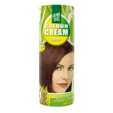 Henna Plus Barva krémová Kaštanová 4.56 60 ml