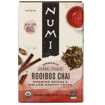 Numi Rooibos Chai 18 ks, 48,6 g