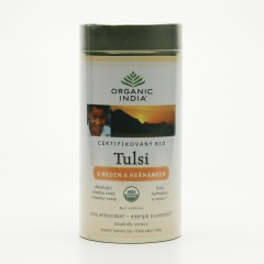Organic India Čaj Tulsi Honey Chamomile, sypaný 100 g