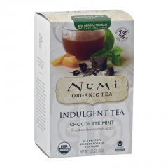 Numi Čokoládový čaj Mint, Indulgent Tea 12 ks, 39 g