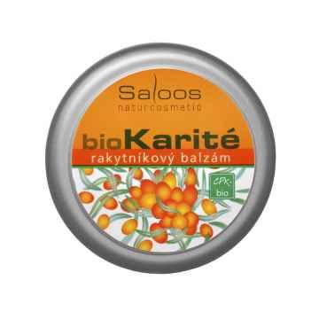 Saloos Balzám bio karité Rakytníkový 50 ml