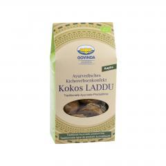 Govinda Ajurvédské cukroví Laddu s kokosem, Kapha, Bio 120 g