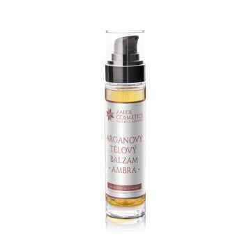 Zahir Cosmetics Arganový tělový balzám ambra 50 ml