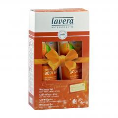 Lavera Dárkový set Pomeranč & Rakytník, Wellness 2015 200 ml + 200 ml