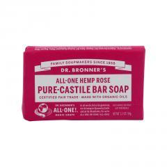 Dr. Bronner´s Tuhé mýdlo Rose 34 g