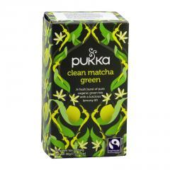Pukka Čaj ayurvédský Clean Matcha Green, bio 30 g, 20 ks