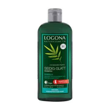 Logona Šampon krémový pro slabé vlasy bambus 250 ml