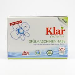 Klar Tablety do myčky 500 g, 25 ks