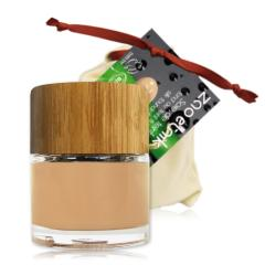 ZAO Hedvábný tekutý make-up 710 Light Peach 30 ml bambusový obal