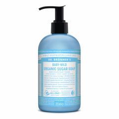 Dr. Bronner's Tekuté mýdlo na tělo i vlasy Sugar-Shikakai, Baby-Mild 355 ml