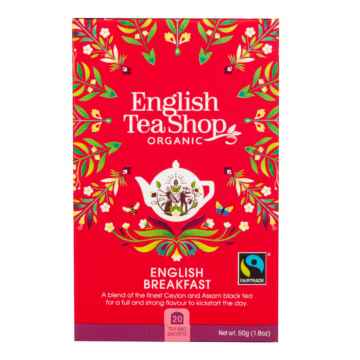 English Tea Shop Černý čaj English Breakfast, bio 40 g, 20 ks