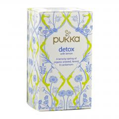 Pukka Čaj ayurvédský Detox with Lemon 20 ks, 40 g