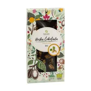 Naturalis Čokoláda hořká s moruší bílou, bio 80 g