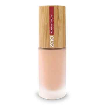 ZAO Hedvábný tekutý make-up 713 Fair beige 30 ml bambusový obal