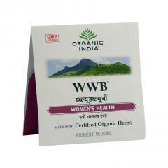 Organic India Zdraví pro ženu, kapsle 4 ks