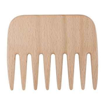 Redecker Hřeben z bukového dřeva Afro Comb 9 cm