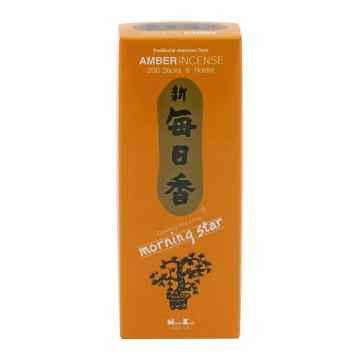 Nippon Kodo Vonné tyčinky japonské Morning Star Amber 200 ks