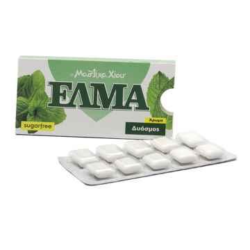 Chios GMGA Žvýkačky s mastichou Elma Spearmint 10 dražé, 14 g